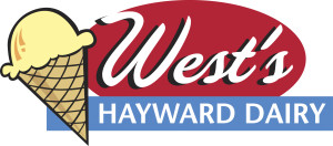 West's Hayward Dairy logo